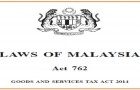 Goods & Services Tax (GST) Is Now Law in Malaysia