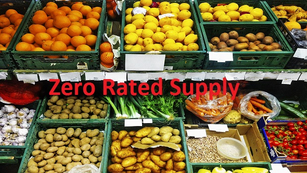 What is Zero-Rated Supply in GST?